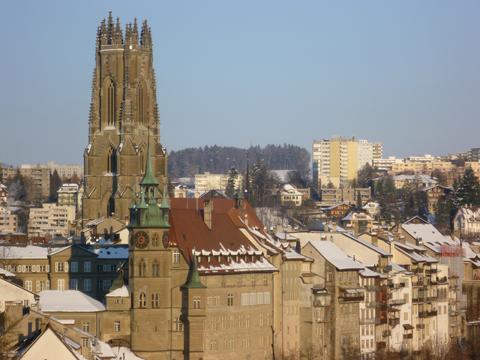 Freiburg ist ein interessantes touristisches Zentrum der Schweiz