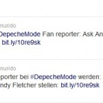 Werde Fan-Reporter bei Depeche Mode: 5 Fragen an Andy Fletcher