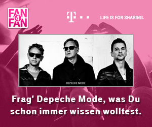 Depeche Mode bei Fan4Fan