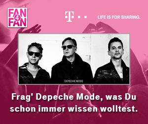 Depeche Mode bei Fan4Fan